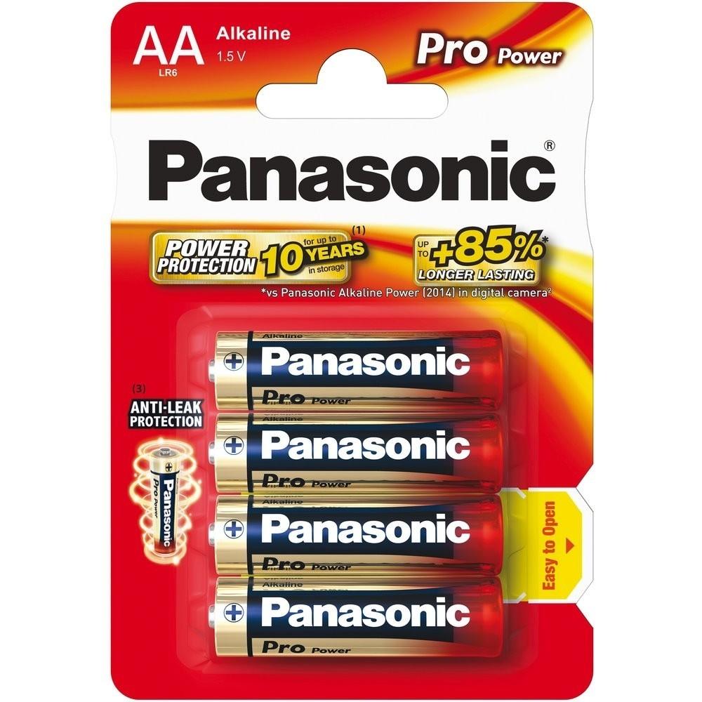Baterie Panasonic AA LR6 1,5 V Pro Power