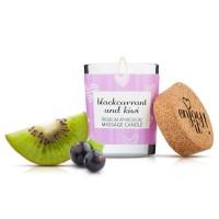Masážní svíčka Magnetifico Enjoy it! Blackcurrant and Kiwi 70 ml