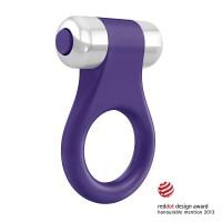 Vibrační erekční kroužek OVO B1 fialový