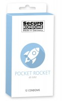 Kondomy Secura Pocket Rocket 12 ks