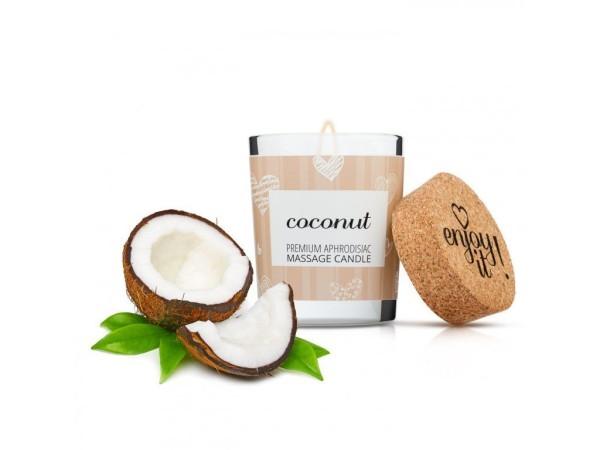 Masážní svíčka Magnetifico Enjoy it! Coconut 70 ml