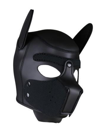 Psí maska Neoprene Puppy Hood černá