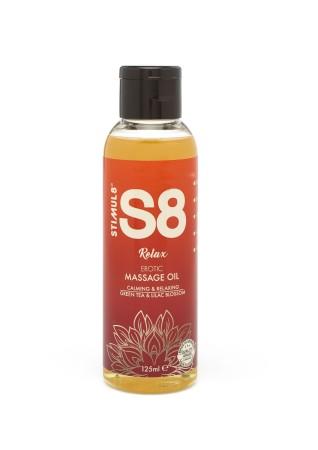 Masážní olej Stimul8 S8 Relax 125 ml