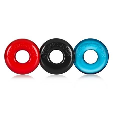 Erekční kroužky Oxballs Ringer barevné