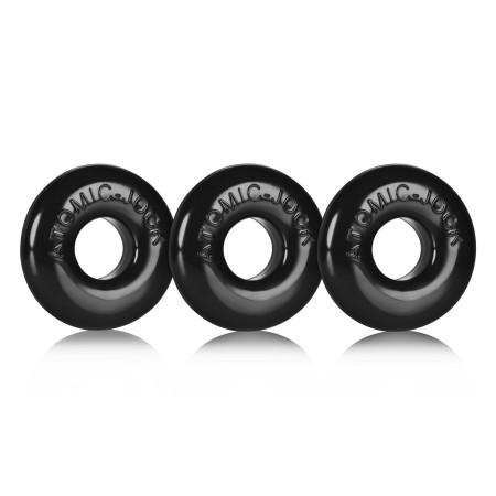 Erekční kroužky Oxballs Ringer černé