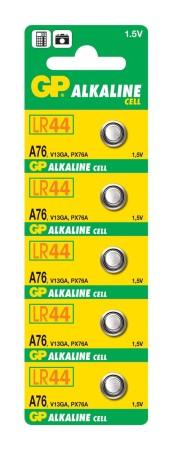 Baterie GP A76 LR44 1,5 V (1 ks)