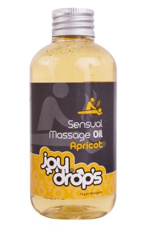 Masážní olej JoyDrops meruňka 250 ml
