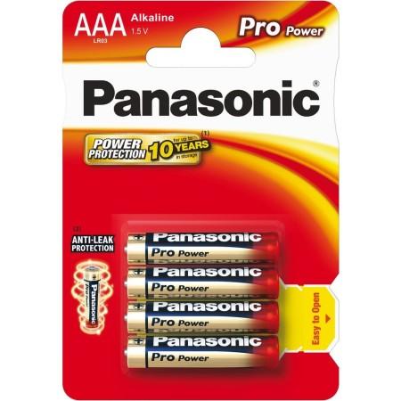 Baterie Panasonic AAA LR03 1,5 V Pro Power