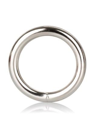 Kovový erekční kroužek CalExotics Silver Ring
