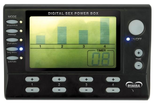 Napájecí zdroj Rimba Electro Sex Power Box Deluxe