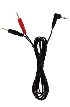 Napájecí kabel Rimba 2,5 mm jack male – 2x 2 mm male