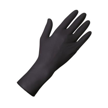 Vyšetřovací rukavice Unigloves Select Black 300