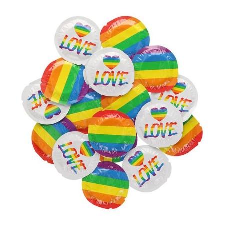 Kondom EXS Rainbow Pride and Love 1 ks