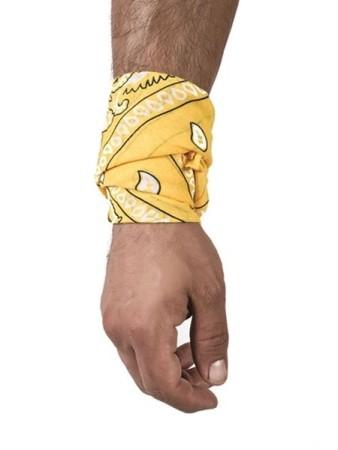 Hanky šátek žlutý