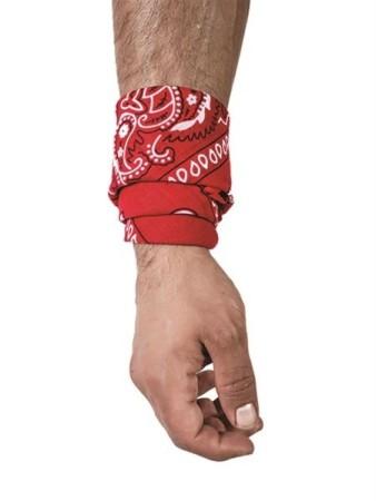 Hanky šátek červený