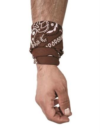 Hanky šátek hnědý