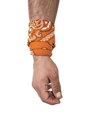 Hanky šátek oranžový