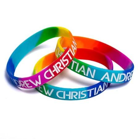 Duhový náramek Andrew Christian Pride Rainbow